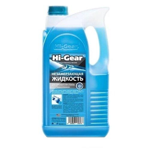 Жидкость для стеклоомывателя Hi-Gear HG5654N, -25°C, 5 л промывка hi gear hg2219