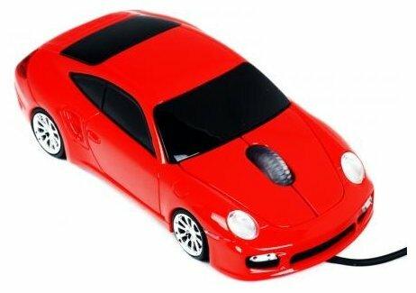 Мышь 3Cott Kart Mice IV Red USB
