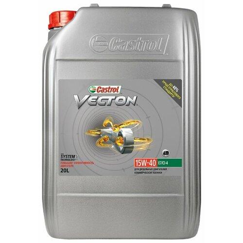 цена на Моторное масло Castrol Vecton 15W-40 20 л