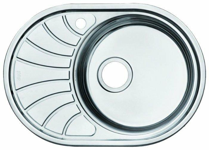 Врезная кухонная мойка IDDIS Suno SUN65SRi77 65х46см нержавеющая сталь