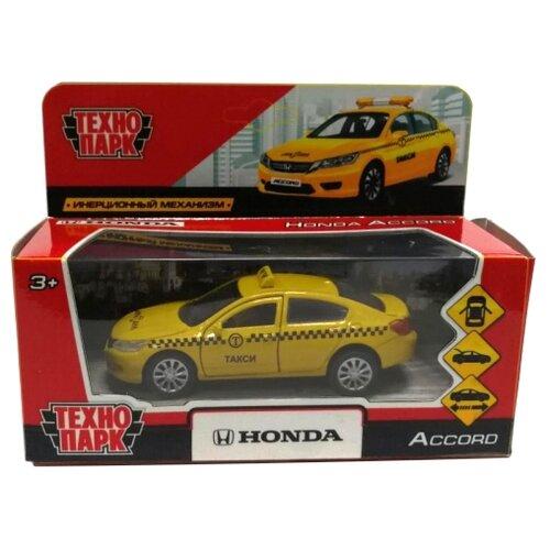 Легковой автомобиль ТЕХНОПАРК Honda Accord (ACCORD-T) 12 см желтыйМашинки и техника<br>