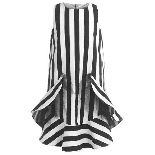 Купить Платье Gulliver размер 146, черный 2, Платья и сарафаны