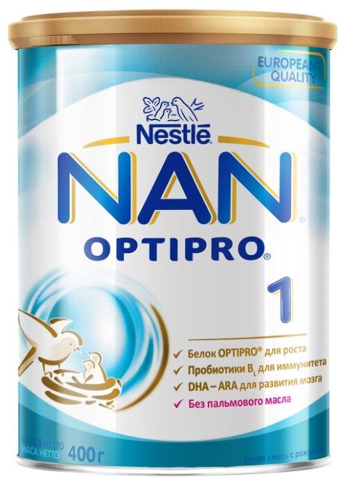 Смесь NAN (Nestlé) 1 Optipro (с рождения) 400 г
