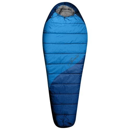 Спальный мешок TRIMM Balance 185 sea blue/mid.blue с правой стороны