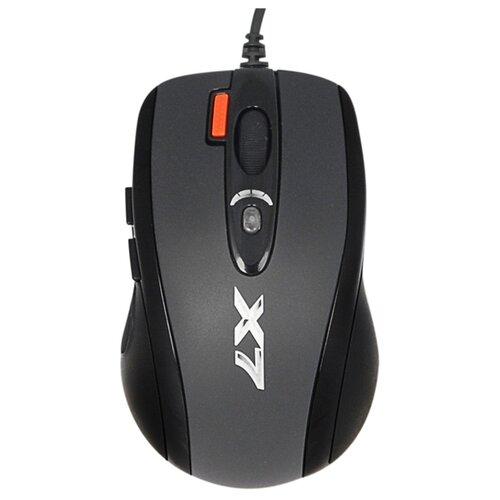 Мышь A4Tech X-710BK Black USB