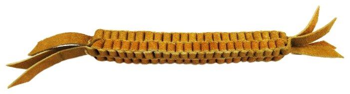 Игрушка для собак Ankur Плетенка из буйволиной кожи 28х2,5 см