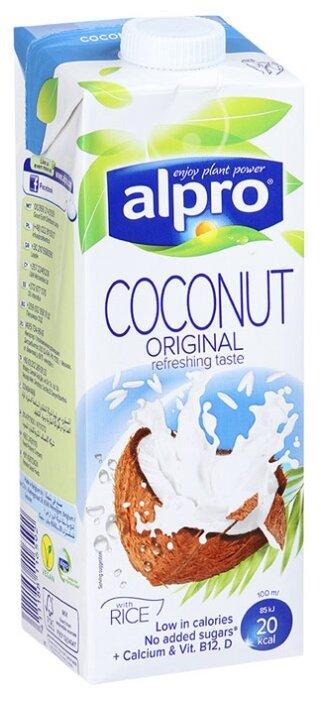 Кокосовый напиток alpro Оригинальный с рисом 0.9%, 1 л