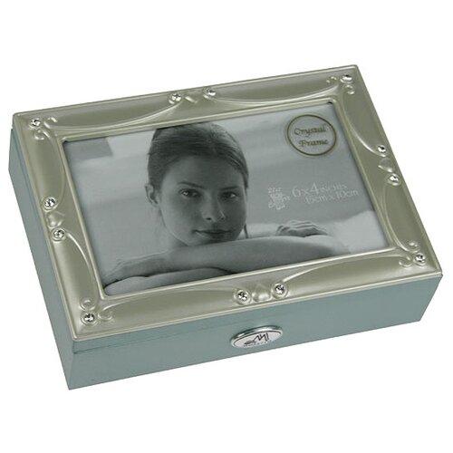 Moretto Шкатулка 39924 серый/серебристый фото