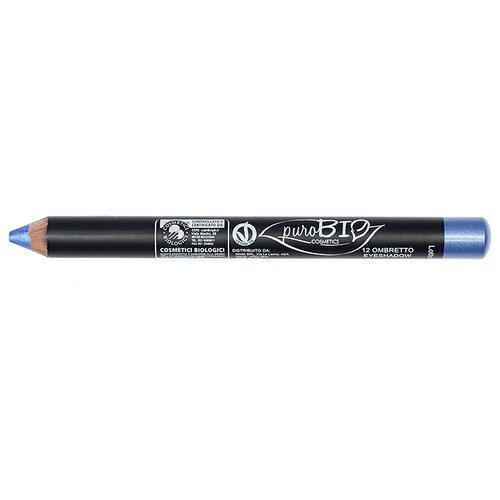 PuroBIO Тени для век в карандаше 12 васильковыйТени<br>