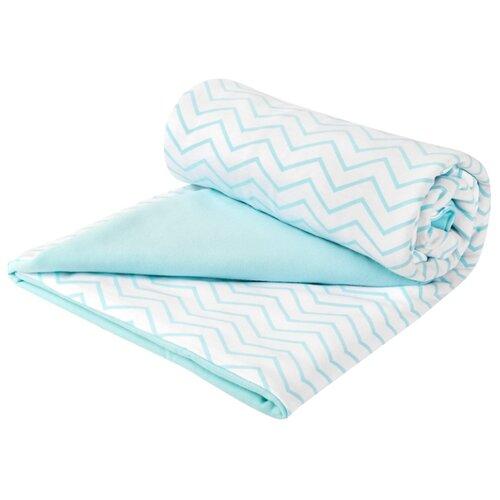 Купить Плед Сонный Гномик Дайкири 504 87х87 см мятный, Покрывала, подушки, одеяла