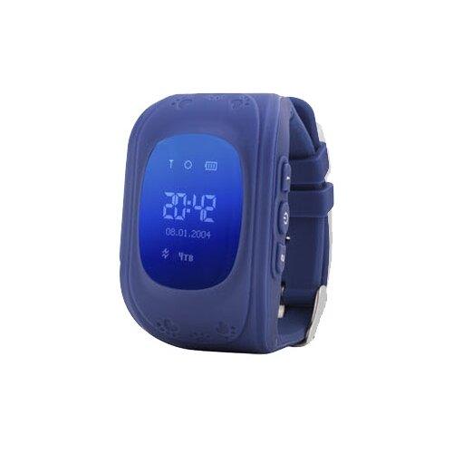 Детские умные часы c GPS Smart Baby Watch Q50 синий детские умные часы smart baby watch q80 желтый