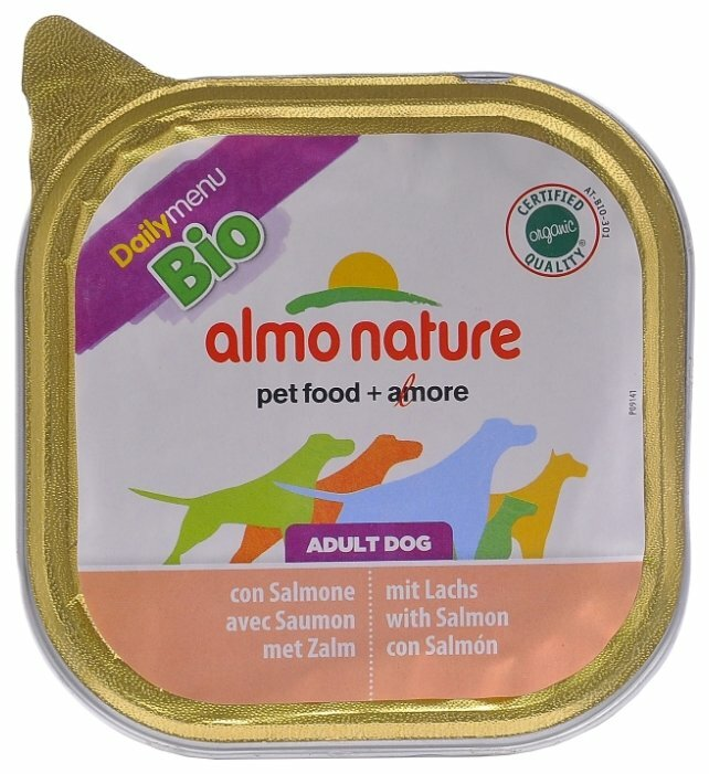 Корм для собак Almo Nature Daily Menu лосось
