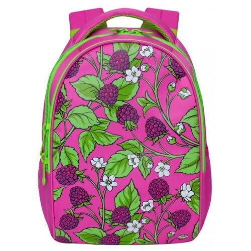 Рюкзак Grizzly RD-832-2 12 розовый рюкзак городской grizzly цвет черный фуксия rd 831 2 3