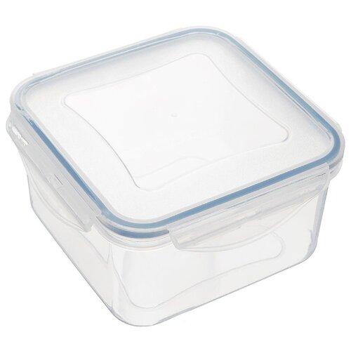 Фото - Tescoma Контейнер Freshbox 1.2 л квадратный голубой/прозрачный tescoma контейнер freshbox 2 л