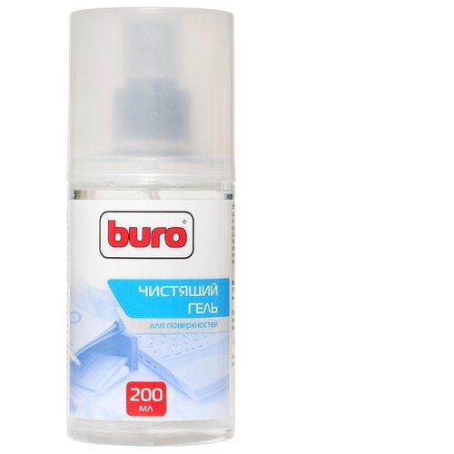 Фото - Набор Buro BU-Gsurface чистящий гель+многоразовая салфетка для оргтехники, для клавиатуры чистящее средство buro bu smark для очистки маркерных досок 250мл