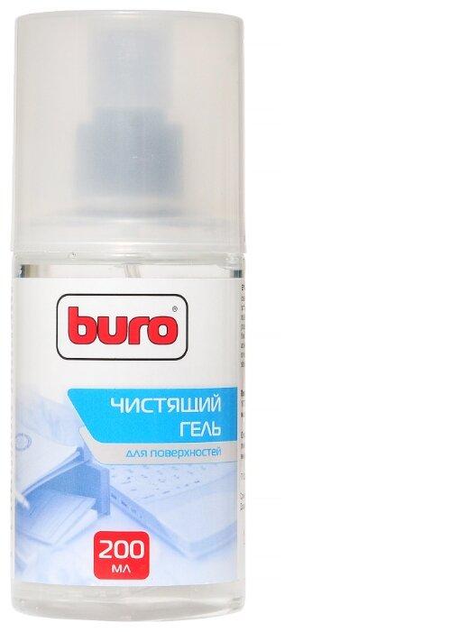 Набор Buro BU-Gsurface чистящий гель+сухая салфетка для оргтехники, для клавиатуры