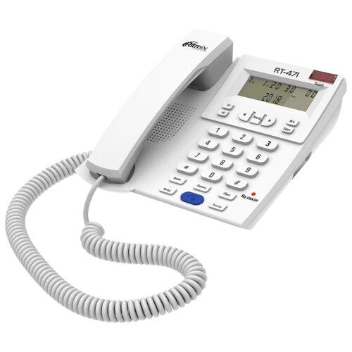 Купить Телефон Ritmix RT-471 белый