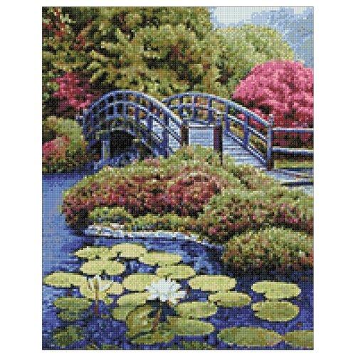 Гранни Алмазная мозаика Японский садик (ag368) 38x48 см
