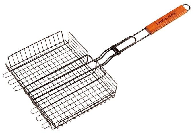 Решетка Пикничок Русская 401-730 для барбекю с антипригарным покрытием, 28х22 см