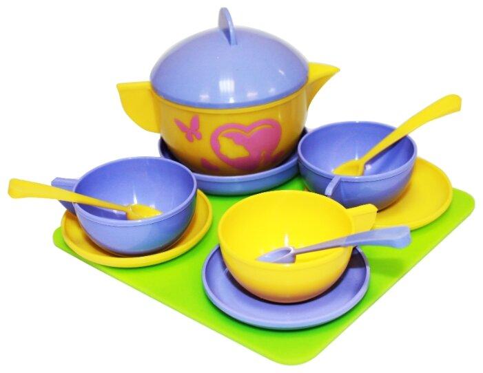 Набор посуды Пластмастер Чайное трио 21071