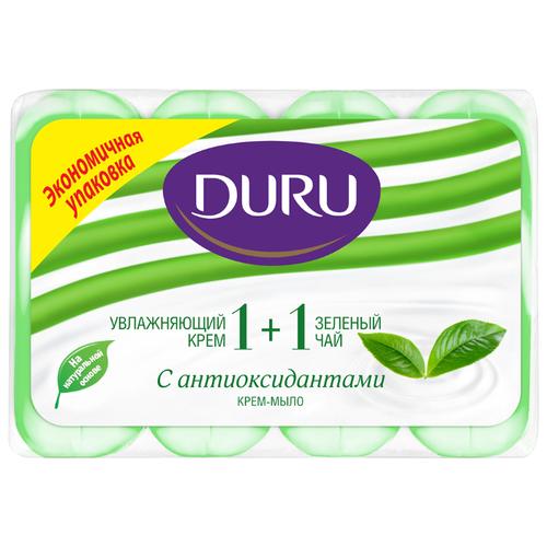Крем-мыло кусковое DURU Soft Sensations 1+1 Крем & зелёный чай 360 гМыло<br>