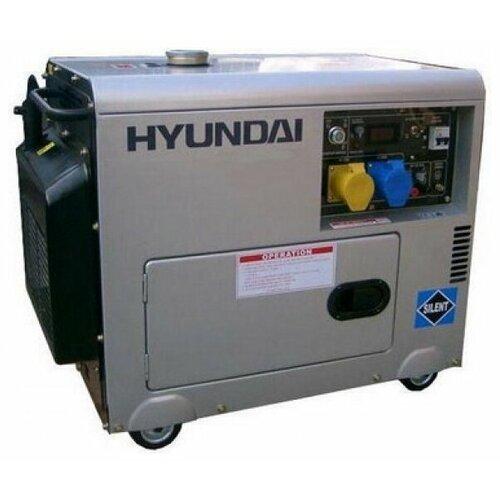Дизельный генератор Hyundai DHY-6000 SE-3 (5000 Вт) дизельный генератор hyundai dhy 8000se
