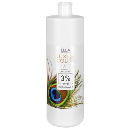 Elea Professional Luxor Color окислитель 3%, 1000 млОкислители<br>