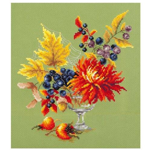 Купить Чудесная Игла Набор для вышивания Осенний букетик 20 x 23 см (100-005), Наборы для вышивания