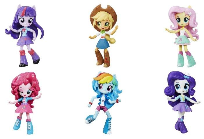 Девочки из эквестрии мини куклы картинки