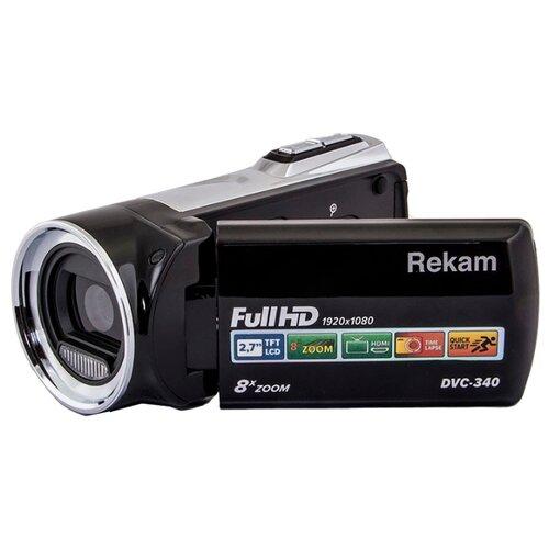 Фото - Видеокамера Rekam DVC-340 черный видеокамера rekam dvc 340 black