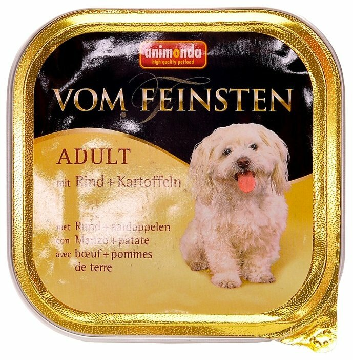 Корм для собак Animonda Vom Feinsten говядина с картофелем 150г