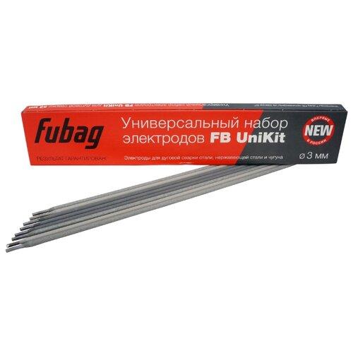 Электроды для ручной дуговой сварки Fubag FB UniKit O 3мм 0.9кг
