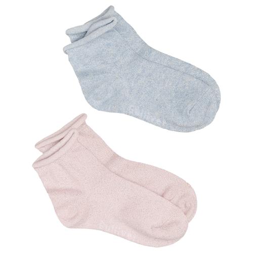 Носки Gulliver Baby комплект 2 пары размер 18-20, розовый/голубой носки nexx размер 18 20 см голубой