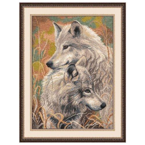 Купить Овен Цветной Вышивка крестом Волчья верность 30 х 40 см (711), Наборы для вышивания