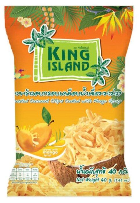 Чипсы King Island кокосовые с манго