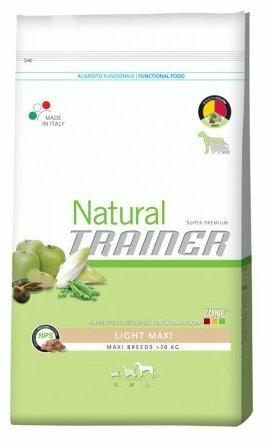 Корм для собак TRAINER Natural Adult Maxi Light dry (3 кг)