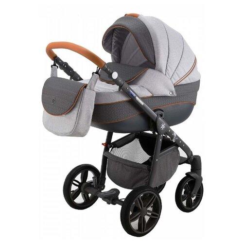 Универсальная коляска Be2Me Bellagio (2 в 1) светло-серый/серый