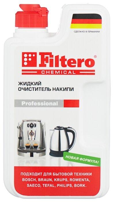 Жидкость Filtero универсальный очиститель накипи 250 мл