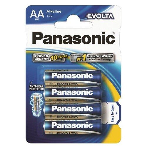 Батарейка Panasonic Evolta AA/LR6 4 шт блистер