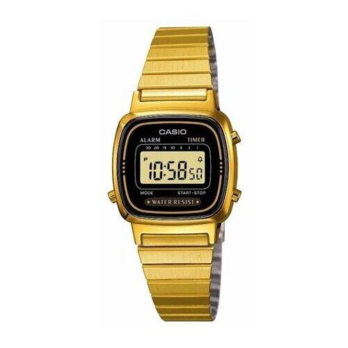 Наручные часы CASIO LA-670WEGA-1E наручные часы casio a 168wec 1e
