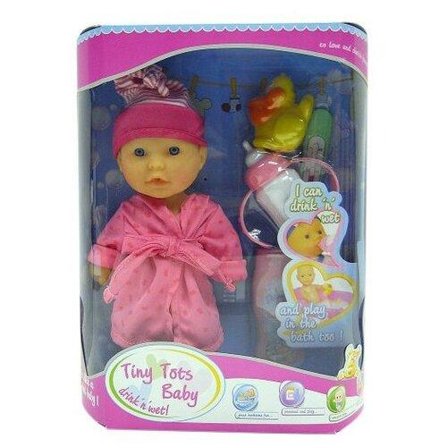 Купить Пупс Shantou Gepai Tiny Tots Baby 23 см 15154-1, Куклы и пупсы