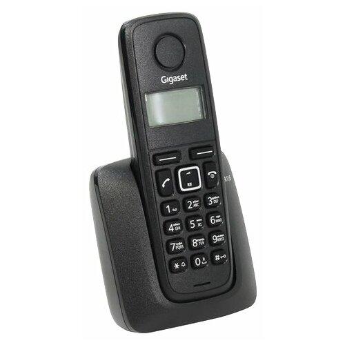 Радиотелефон Gigaset A116 черный радиотелефон
