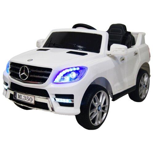 RiverToys Автомобиль Mercedes-Benz ML350, белый, Электромобили  - купить со скидкой