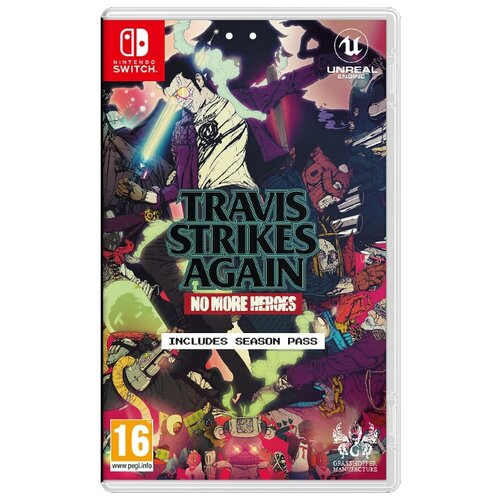 Игра для Nintendo Switch: Travis Strikes Again: No More Heroes