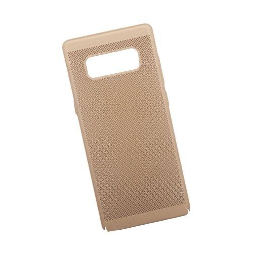 Чехол Liberty Project Сетка Soft Touch для Samsung Note 8 золотой