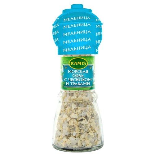 KAMIS Соль морская с чесноком и травами, 60 гСоль<br>