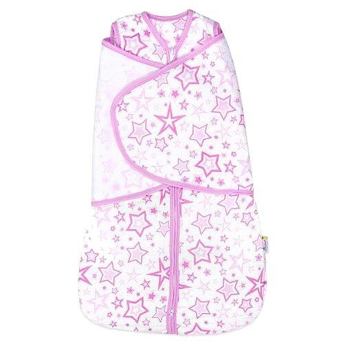 Купить Конверт-мешок GlorYes! Розовые звезды (3-9 мес.) 2 в 1 розовые звезды, Конверты и спальные мешки