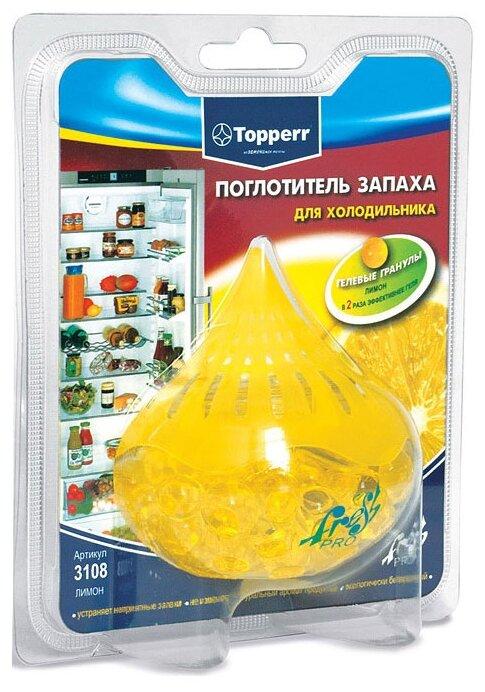 Topperr поглотитель запаха для холодильника Лимон 3108