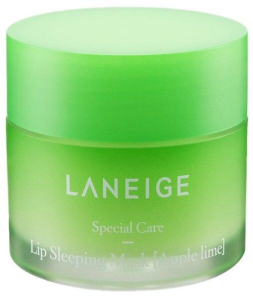 Laneige Ночная маска для губ Apple lime,