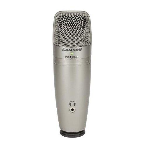 Микрофон Samson C01U Pro, серебристый